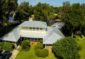 Aerial View of Home Front