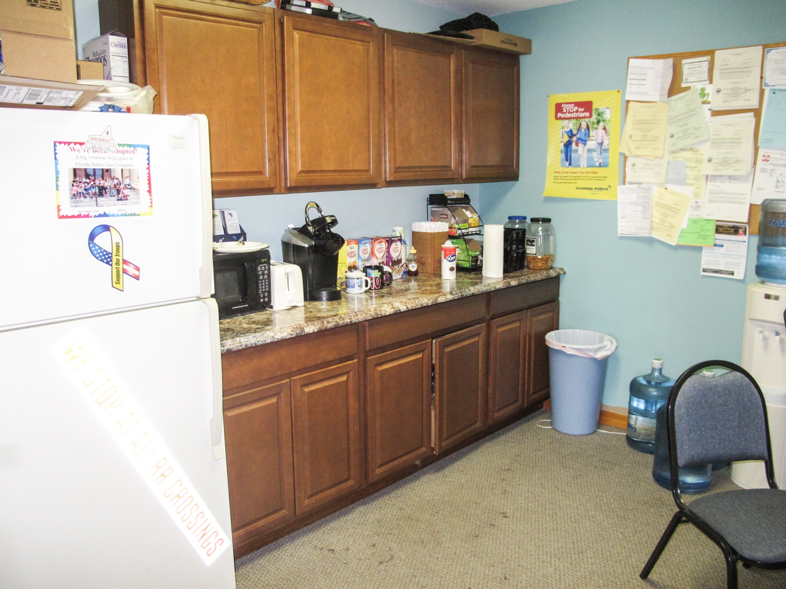 Kitchen and break area
